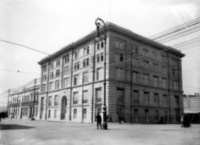 Edificio de la Asociación Cristiana de Jóvenes, fachada