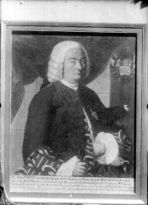 Agustín de Ahumada y Villalón, retrato