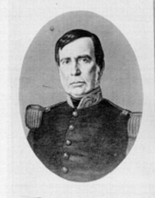 Mariano Arista, presidente, reproducción litográfica