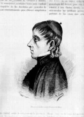Servando Teresa de Mier, litografía