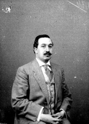 Mateo Saldaña, retrato