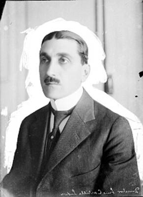 Luis Castillo Ledón, director del Museo Nacional, retrato