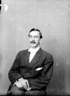 Manuel Gamio, arqueólogo, retrato