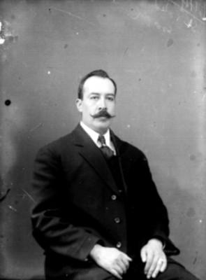 Manuel Toledo, secretario del Museo Nacional, retrato