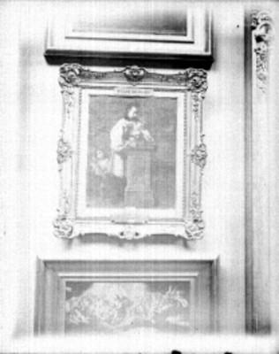 San Luis Gonzaga, pintura de caballete