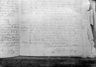 Acta de nacimiento de José Juvino
