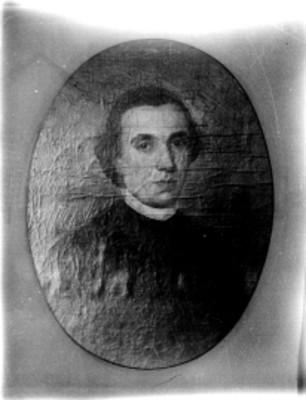 Francisco Javier Clavijero, pintura al óleo