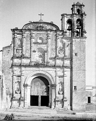 Iglesia de la Tercera Orden de Carmelitas, fachada
