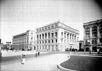 Edificios públicos, exteriores, vista general