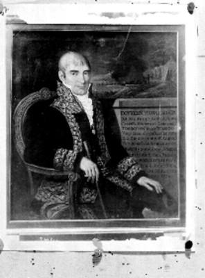 Félix María Calleja del Rey, pintura al óleo