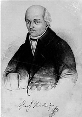 Miguel Hidalgo y Costilla, litografía