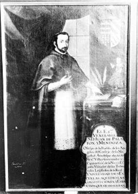 Juan de Palafox y Mendoza, retrato al óleo