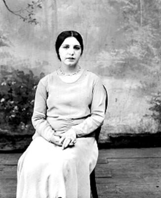 """""""María Ascencio"""", retrato"""