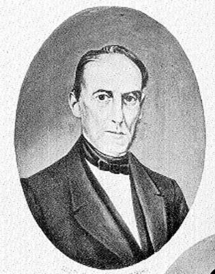Licenciado José Justo Corro, retrato