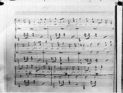 Música y letra de la primera estrofa del himno Nacional Mexicano