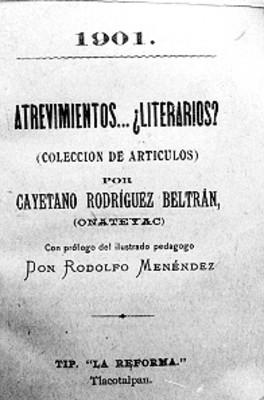 Atrevimientos ¿Literarios?, portada de libro