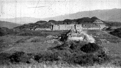 Zona arqueológica de Teotihuacán, panorámica