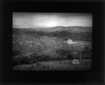 Zona arqueológica de Tajín, vista aérea