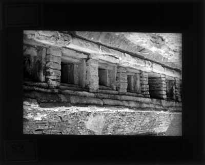 Pirámide de los Nichos, detalle