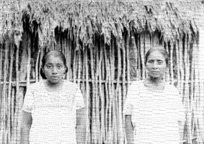 Mujeres indígenas, retrato