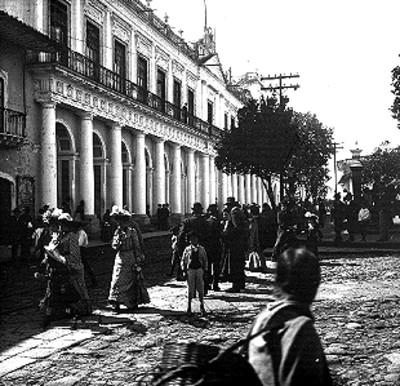 Palacio de Gobierno, vista parcial