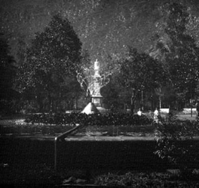 Monumento a Ignacio de la Llave en el parque Colón, vista parcial