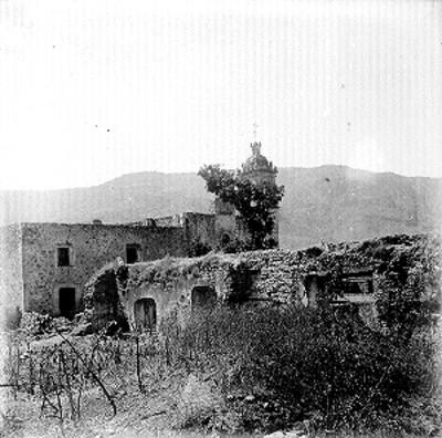 Ruinas de la Hacienda de Corralejo, vista parcial