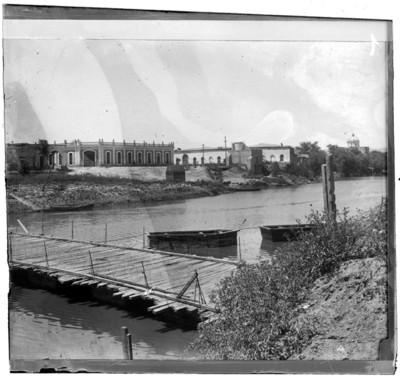 Puente en el Río Lerma, vista parcial