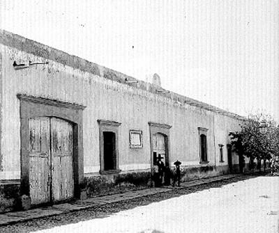 Casa donde vivió Hidalgo, fachada