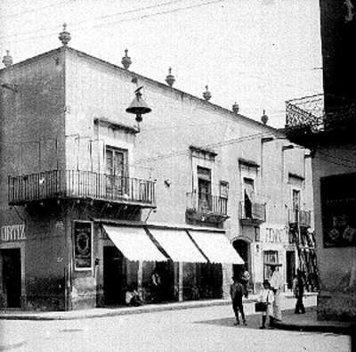 Casa que habitó Ignacio Allende, fachada