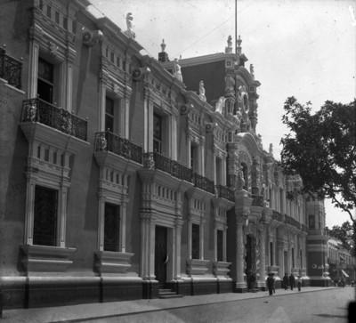 Palacio de Gobierno, fachada