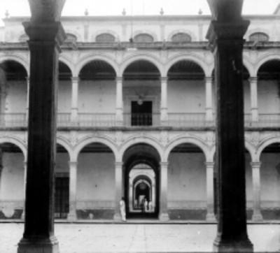 Patio del Palacio de Gobierno, vista parcial