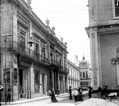 Casa que habitó José Antonio Torres, vista lateral