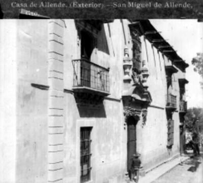 Casa de Allende. (Exterior). San Miguel de Allende