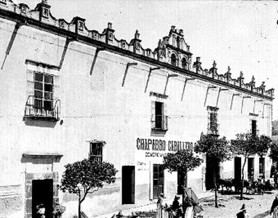 Antiguo Colegio Salesiano, fachada
