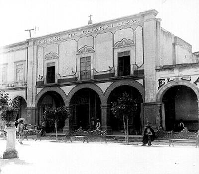 Mesón de Guadalupe, fachada