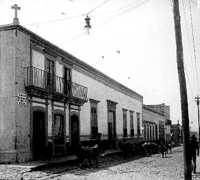 Casa en que se hospedó Miguel Hidalgo, fachada
