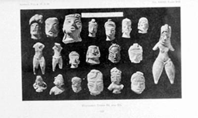 Figurines tipo DI y DII, reprografía