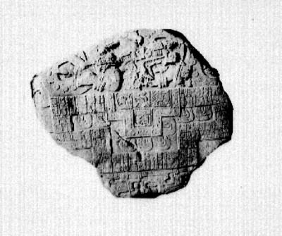 Lápida prehispánica, reproducción