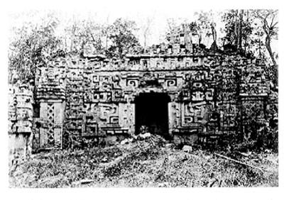 Fachada de la estructura II en Hochob