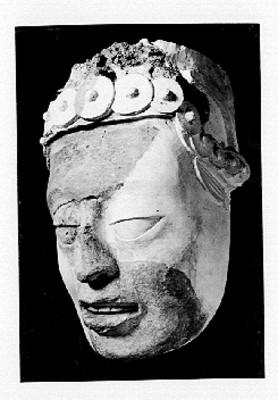 Máscara de estilo maya