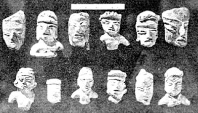 Figurillas antropomorfas, lote