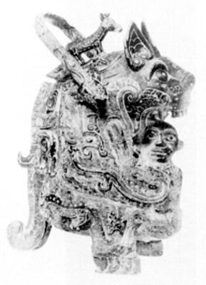 Escultura de figura zoomorfa, reprografía