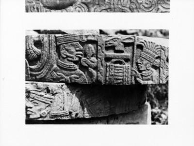 Fuste de la inscripción calendárica, reprografía