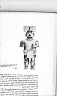 Ilustración de Xipe Totec pocedente de Xolalpan, reprografía