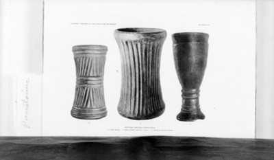 Vasijas prehispánicas de cerámica, reprografía