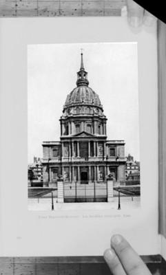 Palacio Nacional de los Inválidos en París, reprografía