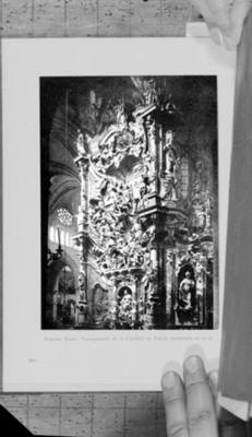 Transparente de la Catedral de Toledo, reproducción