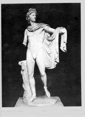 Escultura de Apolo, reprografía