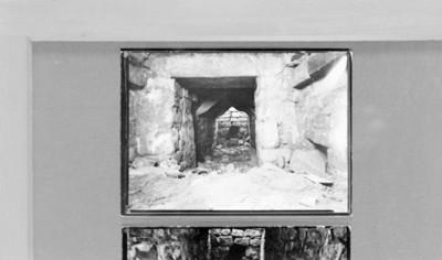 Interior de la tumba número 7 de Monte Albán, reprografía